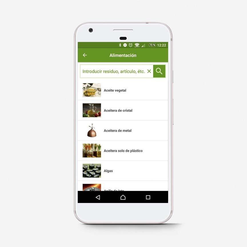 App Inforecikla buscar residuo