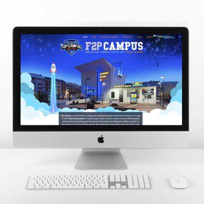 Diseño web-f2p Campus