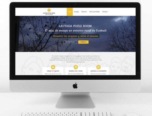 Diseño web Lautada Puzle Room